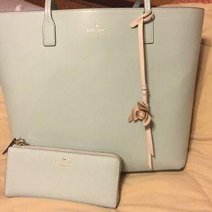 Kate Spade handbag and matching wallet